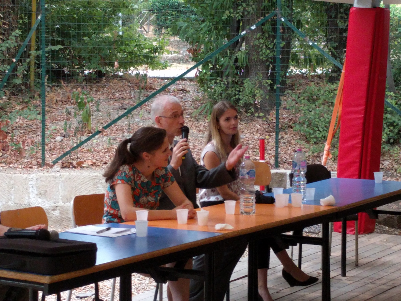 Presentation de Mme Claire Raulin, ministre conseiller