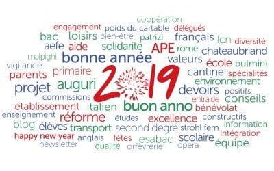 Joyeux 2019!