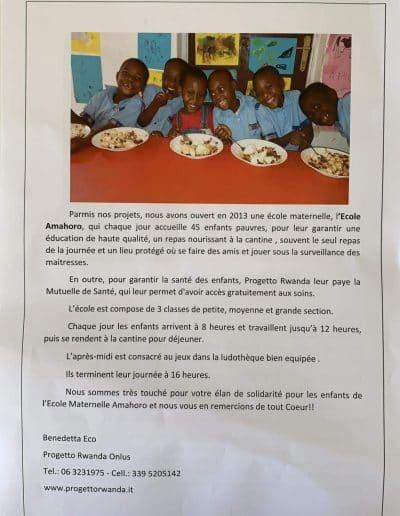 Projet Rwanda
