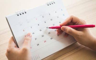 Calendario scolastico 19/20